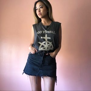 UNIF Go To Hell Ripped Tank